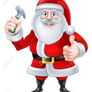 The Santa Hammer