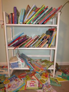 Compressed Reading Time: My Daughter's Bookshelf