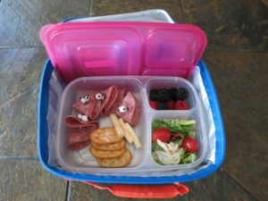 The Lunch-stapo Wants to See Your What's in Your Lunchbox
